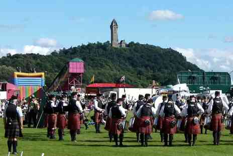Bridge of Allan Highland Games - Entry for two adults to the Bridge of Allan Highland Games on 6th August - Save 44%