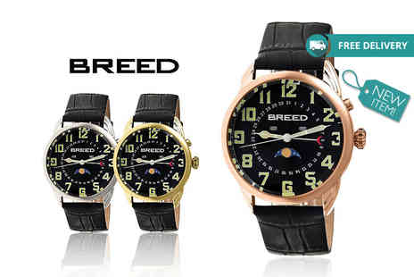 Idealdeal - Luxury mens watch choose from six designs Plus Delivery Included - Save 82%