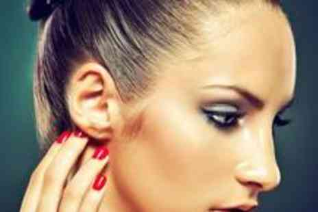 Roxys Nail and Eyebrow Bar - Eyebrow shape with a brow and lash tint, plus a manicure - Save 75%
