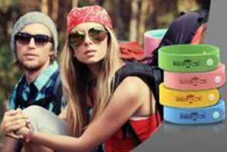 Vivacity Stores - Two mosquito bands, available in four different colours from Vivacity Stores - Save 75%
