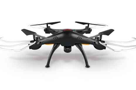 Groupon Goods Global GmbH - Syma X5SC Quadcopter with HD Camera - Save 42%