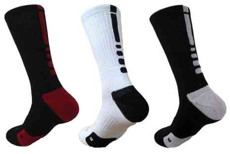 Groupon Goods Global GmbH - Thermal Compression Socks in Choice of Colours - Save 65%