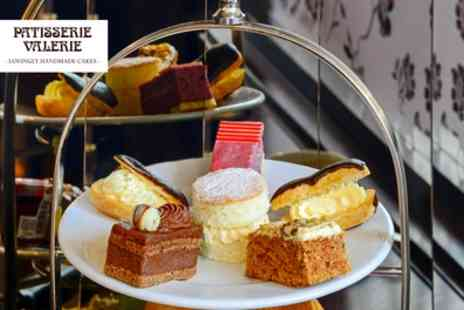Patisserie Valerie - Afternoon Tea with Optional Prosecco for Two - Save 24%