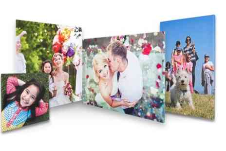 First for Photo - Choice of Personalised Photo Canvas Print - Save 76%