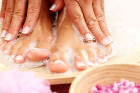 Muna Salon - Manicure or Pedicure or Both - Save 40%
