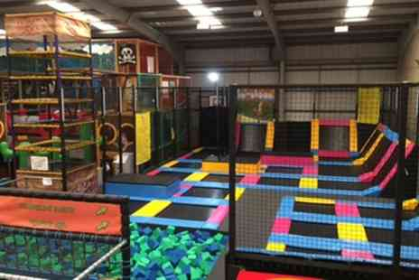 MISTER TWISTERS WACKY - 60 Minute Trampoline and 30 Minute Soft Play Access for One or Two - Save 0%