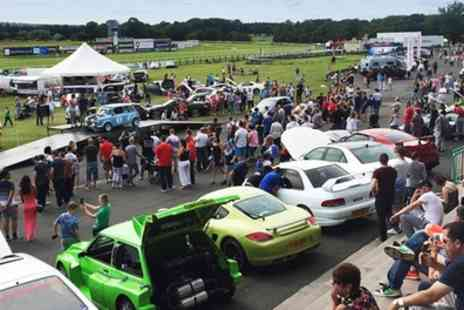 Newcastle Car Show - Entry to the Newcastle Car Show and Family Fun Day for two people or a family of two adults and three children on 12 August - Save 40%