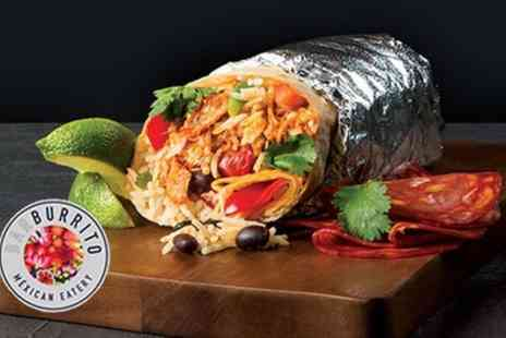 Barburrito - Burrito, Tortilla Chips and Drink for One or Two - Save 48%