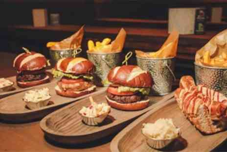 The Original Bierkeller - Burger, Stein of Beer and Live Show Entry for One, Two or Four - Save 25%