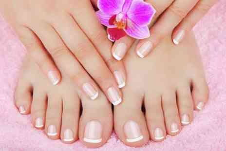 Blakes Hair And Beauty - Shellac Manicure, Pedicure or Both - Save 50%