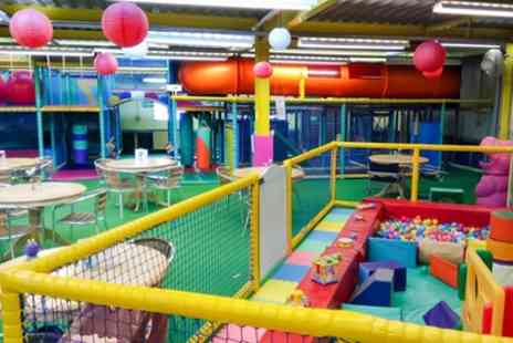 Fun Zone - Soft Play Entry for Two - Save 54%