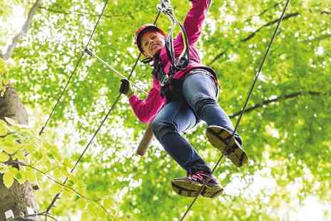 Otterspool Adventure Centre - High ropes course - Save 52%
