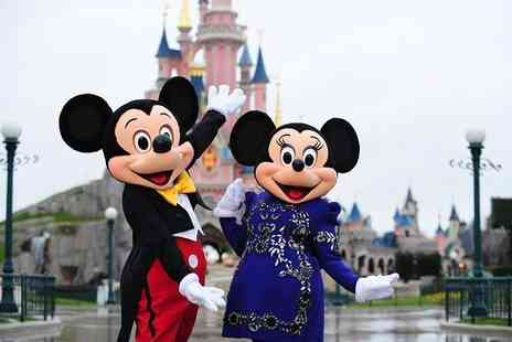 Crystal Travel - Two, three or four night Disneyland Paris stay with flights and one day two park entry - Save 27%