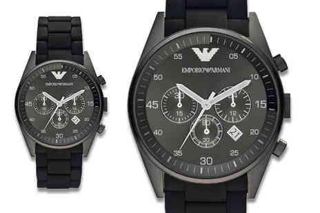 Gray Kingdom - Emporio Armani watch - Save 66%