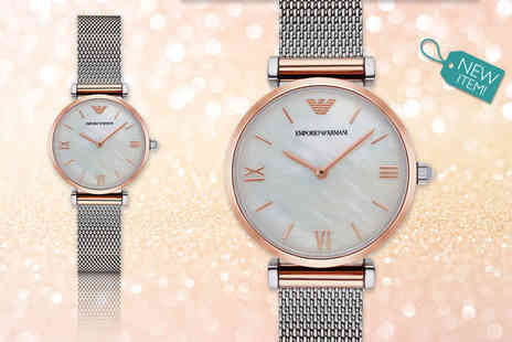 Gray Kingdom - Emporio Armani ladies AR2067 watch - Save 50%