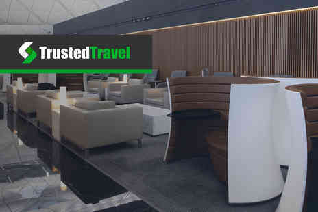 Trusted Travel - Airport lounge pass at choice of major UK airports - Save 0%