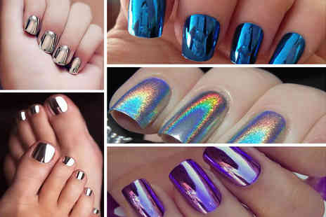 Boni Caro - Holographic nail powder - Save 80%