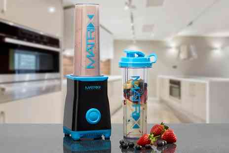 Groupon Goods Global GmbH - One or Two Matrix Nutrition Personal Smoothie Blenders - Save 70%