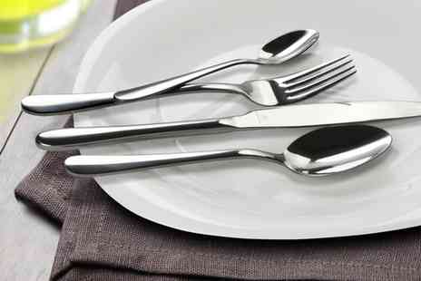 Groupon Goods Global GmbH - One or Two Grunwerg Windsor 16 Piece Cutlery Sets - Save 60%