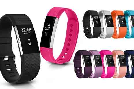 Groupon Goods Global GmbH - Fitbit Classic Replacement Strap in Choice of Colour - Save 67%
