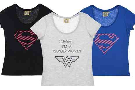 Groupon Goods Global GmbH - Womens Dc Comics Originals TShirt - Save 0%