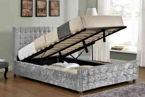 Groupon Goods Global GmbH - Baratheon Ottoman Bed with Optional Mattress With Free Delivery - Save 46%