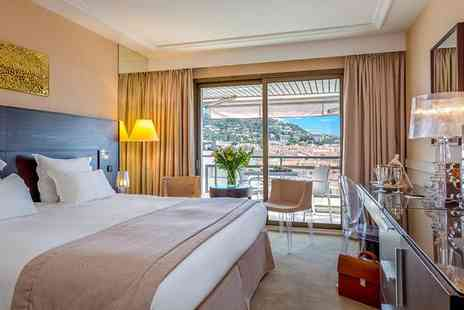 Hotel Barriere Le Gray d Albion Cannes - Four Star Glamorous French Riviera Stay For Two - Save 76%