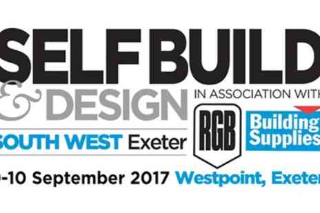 SelfBuild & Design Show - One or two tickets to The SelfBuild & Design Show on 9 To 10 September - Save 33%