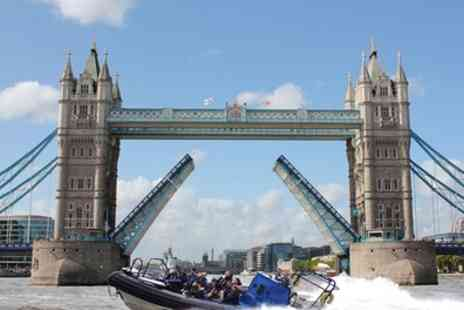 RIB Tours - 25 or 50 Minute Thames Sightseeing Boat Tour - Save 30%