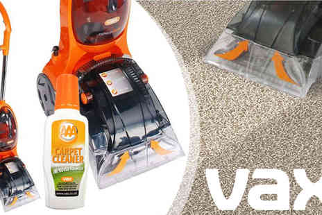 AMS Global - Vax 500W Rapide Spring Carpet Washer & Solution - Save 50%
