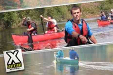 X Adventure Activities - Canoeing For Two - Save 70%