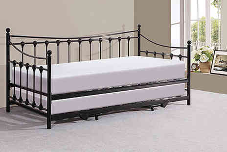 FTA Furnishing - Chambery metal day bed - Save 86%