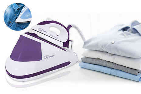 Groundlevel - 2600W steam generator iron - Save 71%