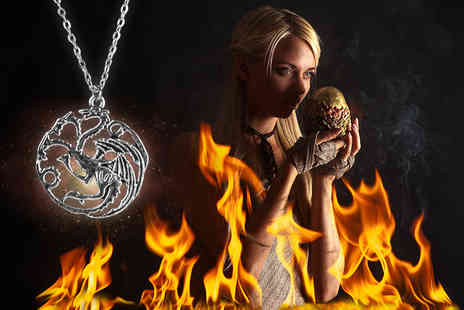 Toy Meets World - Game of Thrones inspired dragon pendant necklace - Save 82%