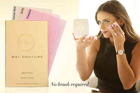 The Rosebud Perfume Company - Mai Couture blush papier or highlighter papier -  save up to 28% - Save 22%