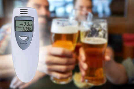 Boni Caro - Digital alcohol breathalyser - Save 73%