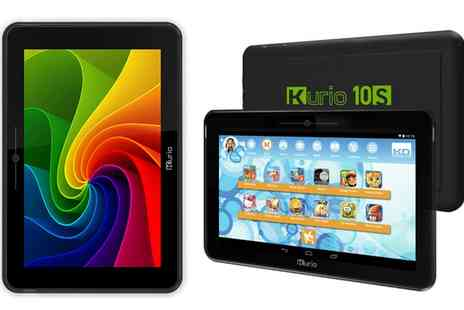 Groupon Goods Global GmbH - Open Box Kurio 10S 10 Inch IPS Quad Core Android 4.2 Family Tablet With Free Delivery - Save 58%