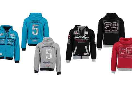 Groupon Goods Global GmbH - Geographical Norway Mens Hoodie in Choice of Size and Colour - Save 0%