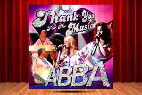 Thank You for the Music - One, two or family ticket to see Thank You for the Music The Ultimate Abba Tribute on 19 August - Save 36%