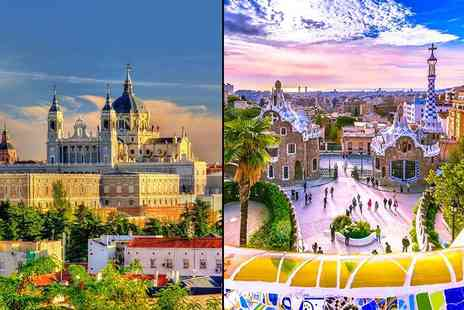 Weekender Breaks - Four night Barcelona and Madrid break - Save 31%