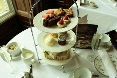 Shrigley Hall Hotel - Sparkling afternoon tea for two people - Save 37%
