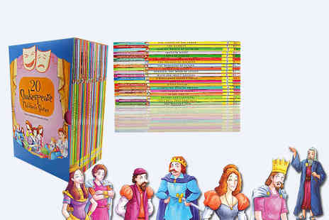 PCS Books - Collection of 20 Shakespeare childrens books - Save 86%