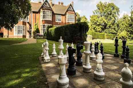 Scalford Hall Hotel - One or two night Melton Mowbray stay for two including breakfast - Save 46%