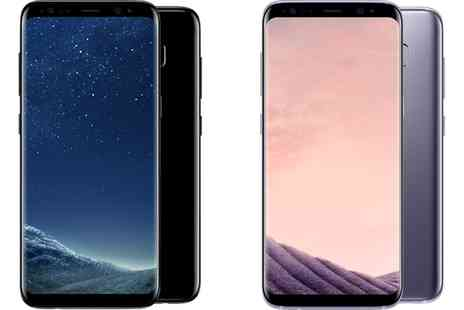 Buymobiles - Samsung Galaxy S8 64GB on 24 Month Three Contract With Free Delivery - Save 90%