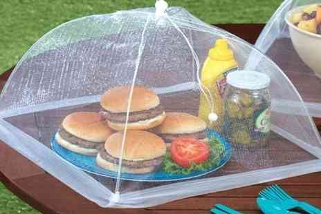 Groupon Goods Global GmbH - One, Two, Three or Four Mesh Screen Food Cover Tents - Save 73%