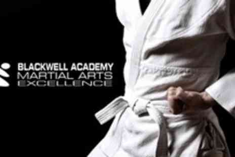 The Blackwell Academy - Ten Sessions of Karate, Martial Arts, Kick Boxing, or Jujitsu For One - Save 0%