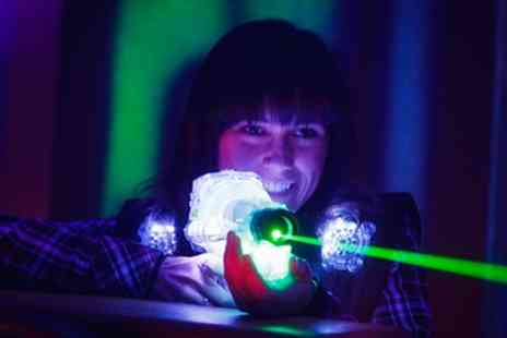 AJ's Lasertag - Laser Tag One Game for Two or Two Games for Up to Ten - Save 50%