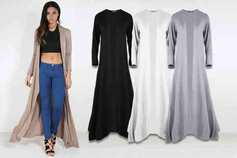 Be Jealous - Maxi cardigan choose from seven colours - Save 63%