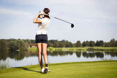 The Travelling Tee - One hour golf lesson for one or two - Save 44%