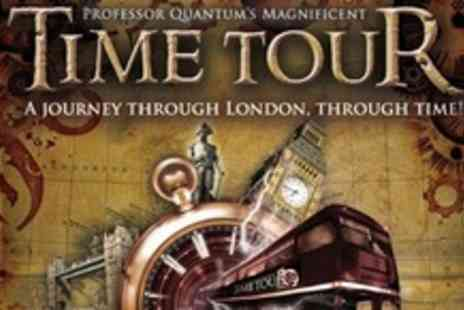 Time Tour - Ticket For One to Professor Quantums Magnificent - Save 50%
